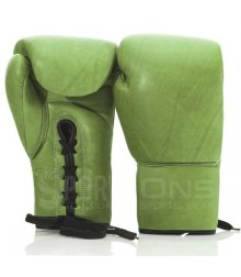 Premium Quality Lace Up Pro Boxing Gloves