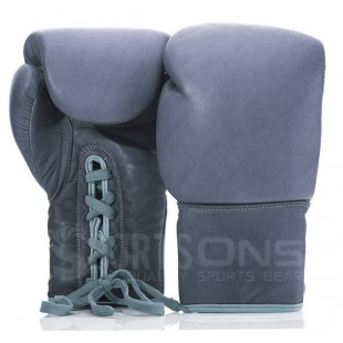 Classic Style Leather Lace Up Boxing Gloves