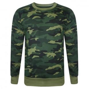 Custom Camouflage 3D Printed Sweatshirts