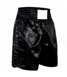 Custom Boxing Trunks Black