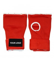 Personalized Gel Inner Gloves Red