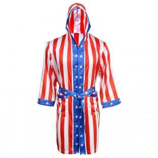 Sublimation Printed USA Boxing Robe
