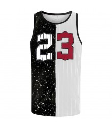 Men Sublimated Gym Tank Tops