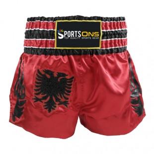 Custom Applique Design Thai Shorts